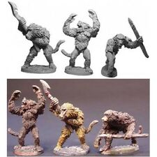 Armorcast Lance and Laser Fantasy Mini 28mm LL03049 Baboons (3) Pack MINT