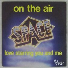 "Space French 7"" SP Carry On the air Space Disco 1979"