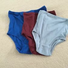 Ladies/Girls School Knickers. Gymphlex Multi Colour 3 Pairs Size Large