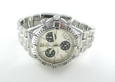 BREITLING COLT AEROMARINE A53035 WATCH CHRONO STAINLESS STEEL CHRONOGRAPH MEN