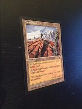 MTG MAGIC TEMPEST WASTELAND (ENGLISH TERRES DEVASTEES) NM