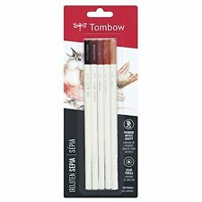 Tombow Irojiten Colored Pencils, Sepia, 5-Pack