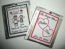 120 WEDDING BRIDAL SHOWER PARTY FAVORS TEA BAG LABELS