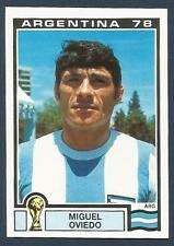 PANINI WORLD CUP STORY #098-MUNICH 74-ARGENTINA 78-ARGENTINA-MIGUEL OVIEDO