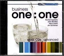 Oxford BUSINESS ONE:ONE Advanced CLASS AUDIO CDs @NEW & SEALED@