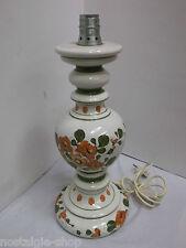 70er Hustadt Stehlampe Tischleuchte Keramikfuss mid century Lamp 70er