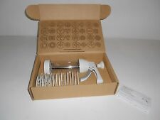 Pampered Chef Cookie Press 1525 Pastry Cheese Straws 16 Molds Retired Complete
