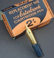 ESTERBROOK NIB 3314 - RARE / BOXED  - NEW OLD STOCK