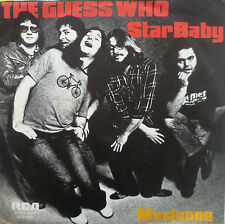 "7"" 1974 ROCK ! THE GUESS WHO : Star Baby /VG+++"