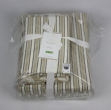 Pottery Barn Theo Duvet Cover Sheet Set Queen Brown 7pc Damask Bedding Ensemble