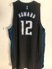 Adidas Swingman NBA Jersey Orlando Magic Dwight Howard Black Rhythm sz XL
