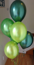 15 Woodland Range Pearlised, Helium Quality Balloons with Curling Ribbon