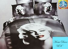 Double size Dreamy Marilyn Monroe print 3d duvet cover bedding set 100% cotton