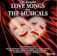 The Greatest Love Songs From The Musicals  Musical Compilation  1995 by Lloyd We