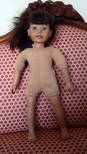 """VINTAGE HEIDI OTT DOLL OPEN MOUTH EYES OPEN/CLOSE 18""""TALL NO CLOTHES AS IS"""