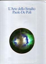 CATALOGO DE POLI ARTE DELLO SMALTO ART GLASSY PASTES GIO' PONTI ITALIAN DESIGN