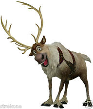 SVEN The Reindeer of The Walt Disney Movie Frozen -WindoCling Art Stick-On Decal