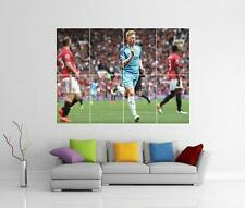 KEVIN DE BRUYNE MANCHESTER CITY MAN CITY GIANT WALL PHOTO PRINT POSTER