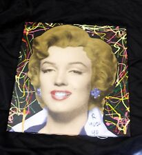 RINGO Marilyn Monroe, painted lithograph GALLERY WRAPPED, POP ART,Steve Kaufman