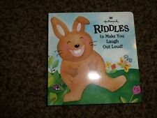 Vintage Hallmark Easter Bunny Riddles Laugh Jokes Mini Book 1990's  Mint