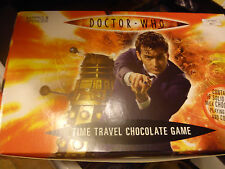 MARKS & SPENCER DOCTOR WHO TIME TRAVEL CHOCOLATE GAME. GAME IS COMPLETE