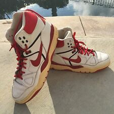 Size 13 Vintage Nike AIR FORCE 3 hightop shoes red vintage nike air force