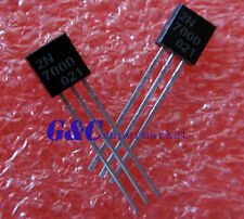 100pcs 2N7000 MOSFET N-CH 60V 200MA TO-92  NEW GOOD QUALITY TO1