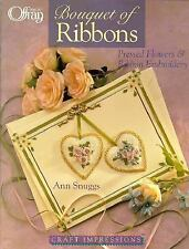 Bouquet of Ribbons : Pressed Flowers and Ribbon Embroidery ~ Offray