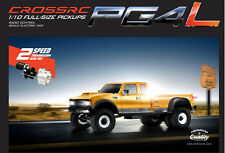 CROSS-RC PG4L 1:10 4WD 2-Speed Full-Size Pickup Truck RC Crawler like TF2 Axial