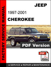 JEEP CHEROKEE 1997 1998 1999 2000 2001 DIESEL FACTORY SERVICE REPAIR FSM MANUAL