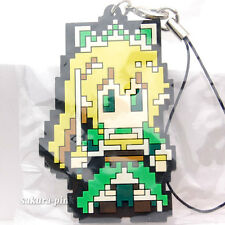 00Leafa Dot Pic Ver. Sword Art Online Rubber Strap Key Chain Authentic BANPRESTO