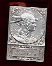 FRENCH MEDAL / COURS DE MONITEURS / GYMNASTIQUE 1876 / Bronze Medal / BOX / M45