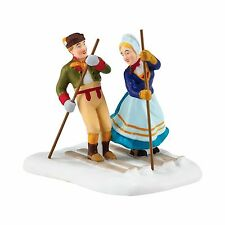 Department 56 Alpine Village - LOVE ON THE SLOPES - NEW 2016 FREE SHIPPING