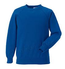 Girls B Boys Unisex School Jumper Sweatshirt Uniform Age 3 4 5 6 7 8 9 10 11 12