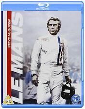LE MANS (STEVE McQUEEN) NEW SEALED UK REG B/2 BLU-RAY