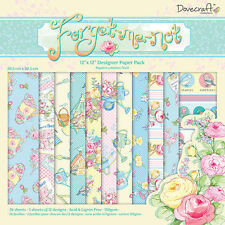 LOT 36 FEUILLE PAPIER PASTEL FLEUR ROSE NATURE SCRAPBOOKING SCRAP CARTE 30x30cm