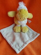 Happy horse yellow duck cow comforter soft Toy blankie doudou
