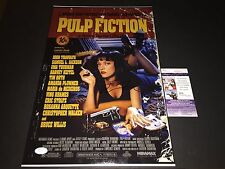 Quentin Tarantino Pulp Fiction Autographed Signed 12X18 Photo JSA COA