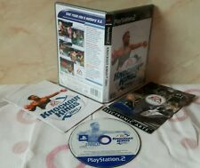 KNOCKOUT KINGS 2001 - Playstation 2 Ps2 Play Station Gioco Game Ea Sporst Boxe