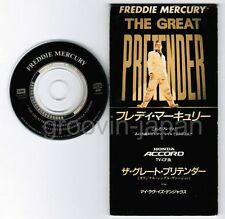 "FREDDIE MERCURY The Great Pretender /My Love Is JAPAN 3"" CD TODP-2505 1995 issue"