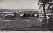 WW1 Panoramic View Prees Heath Camp under construction Whitchurch Shropshire