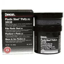 Devcon Plastic, Steel Epoxy Putty 1 Lb 10110