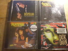 Tarantino Rodriguez [4 CD Soundtrack] Pulp Fiction Desperado From Dusk Jackie Br