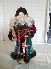 "Charming 17"" Santa figure Father Christmas full body*"