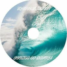 TROPICAL WAVES SOUNDS OF NATURE SOOTHING SLEEP RELAXATION AUDIO CD