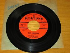 """BLUES 45 RPM - DOCTOR ROSS - FORTUNE 857 - """"CAT SQUIRREL"""" + """"THE SUNNYLAND"""""""