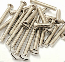 25mm x m3.5 nickel plated Electrical socket screws