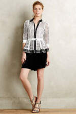 NWT ANTHROPOLOGIE by BYRON LARS LACED PEPLUM JACKET 4