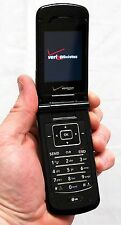 LG VX8600 Black Chocolate Verizon Flip Cell Phone vCast Bluetooth memory slot -C
