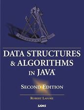 Data Structures & Algorithms in Java by Robert Lafore (2002, Hardcover,...